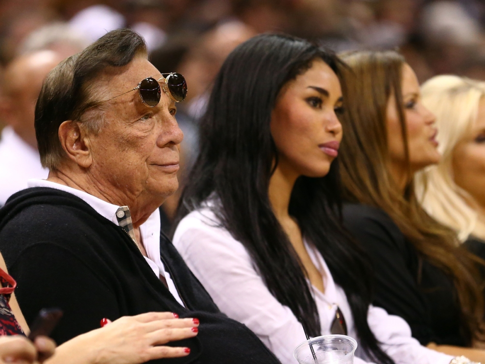 Donald Sterling with Ex-Girlfriend