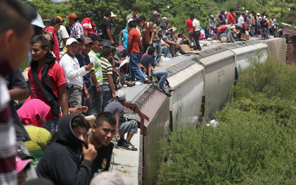 Central Americans Undertake Grueling Journey Through Mexico To U.S.